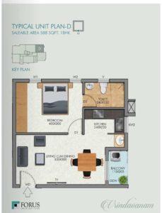 typical unit plan-D